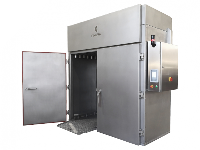 Cooking and smoking ovens