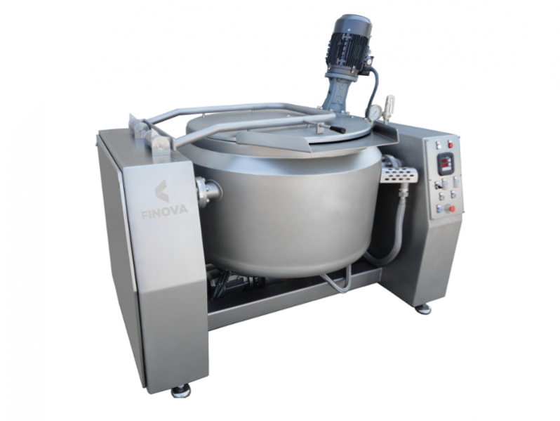 Tiltable cooking boilers